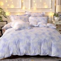 全鋪棉床罩組-雙人|銀離子防蟎抗菌天絲|蔓晴