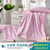 鋪棉涼被/四季被5X6.5尺|3M專利天絲吸濕排汗|鎖鍊