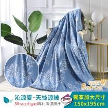 鋪棉涼被/四季被5X6.5尺|3M專利天絲吸濕排汗|旅途之秋