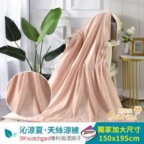 鋪棉涼被/四季被5X6.5尺|3M專利天絲吸濕排汗| 玩圈圈