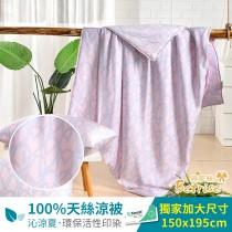 鋪棉涼被/四季被5X6.5尺|100%奧地利天絲|雨后