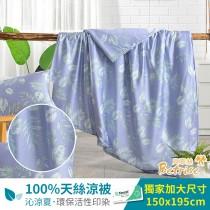 鋪棉涼被/四季被5X6.5尺|100%奧地利天絲|怜夢
