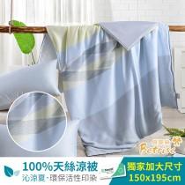 鋪棉涼被/四季被5X6.5尺|100%奧地利天絲|生活絮語