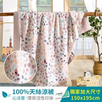 鋪棉涼被/四季被5X6.5尺|100%奧地利天絲|初見
