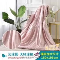 鋪棉涼被/四季被5X6.5尺|3M專利天絲吸濕排汗|言葉
