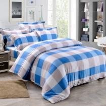 【Betrise藍線】雙人-植萃系列100%奧地利天絲三件式枕套床包組