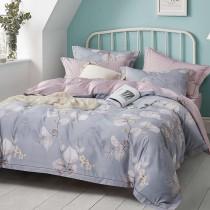 兩用被床包組-單人|3M專利天絲吸濕排汗 | 晨間馨香-藍