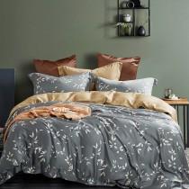兩用被床包組-特大(被套8x7尺) 400織紗100%天絲 庭榭