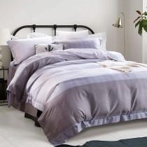 全鋪棉床罩組-特大|3M專利天絲吸濕排汗|暮眷-灰