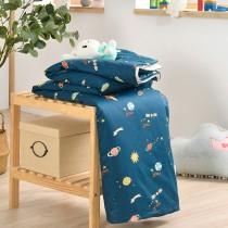 鋪棉涼被/四季被5X6.5尺|300織精梳長絨棉|宇宙旅行