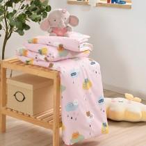 鋪棉涼被/四季被5X6.5尺|300織精梳長絨棉|熊熊軟糖
