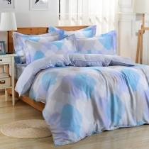 【Betrise蓮憶情池】雙人-環保印染德國防螨抗菌100%天絲四件式兩用被床包組